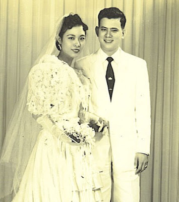 Wedding picture of my grandparents